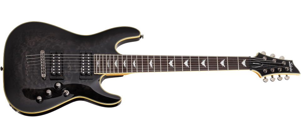 schecter omen extreme 7 a top seven string guitar to love guitar space. Black Bedroom Furniture Sets. Home Design Ideas