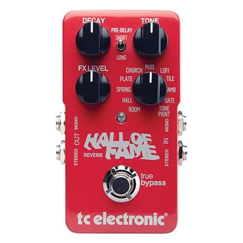 TC Electronic Hall of Fame Reverberation Pedal Review