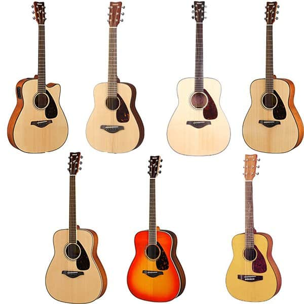top seven best yamaha acoustic guitars guitar space