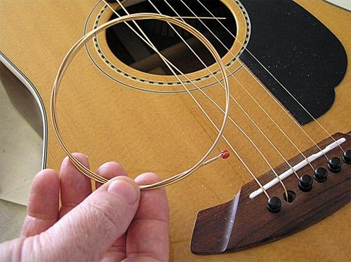 how to change and replace guitar strings by yourself guitar space. Black Bedroom Furniture Sets. Home Design Ideas