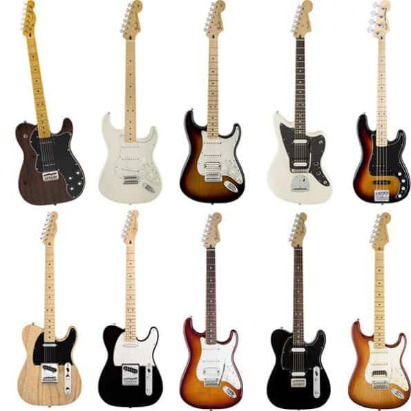 The Top Ten Best Guitars From Fender