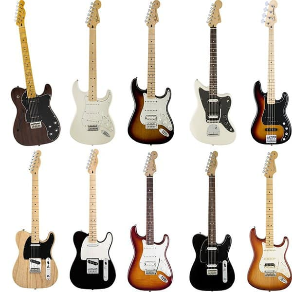 The Top Ten Best Guitars From Fender