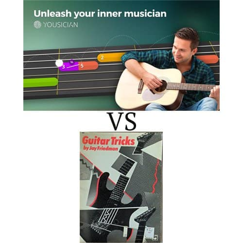 Yousician VS Guitar Tricks Online Guitar Lesson Comparison