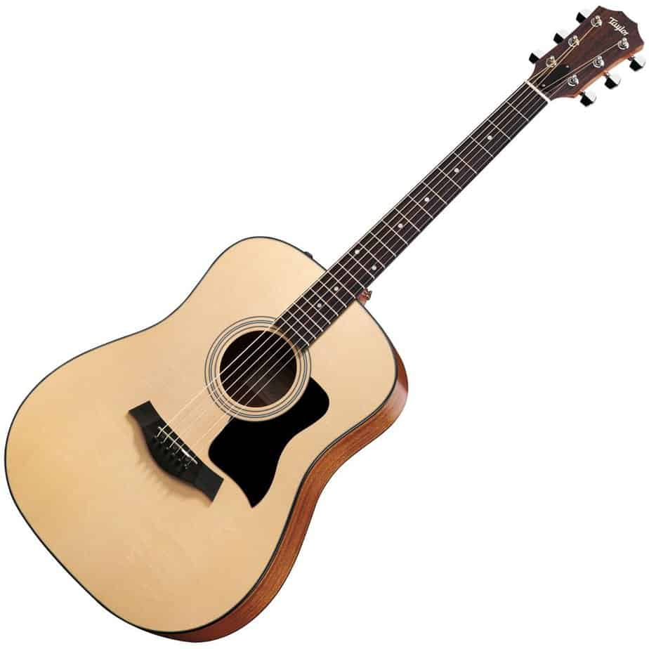 the ultimate taylor 110e dreadnought acoustic guitar review that will make you swoon guitar space. Black Bedroom Furniture Sets. Home Design Ideas