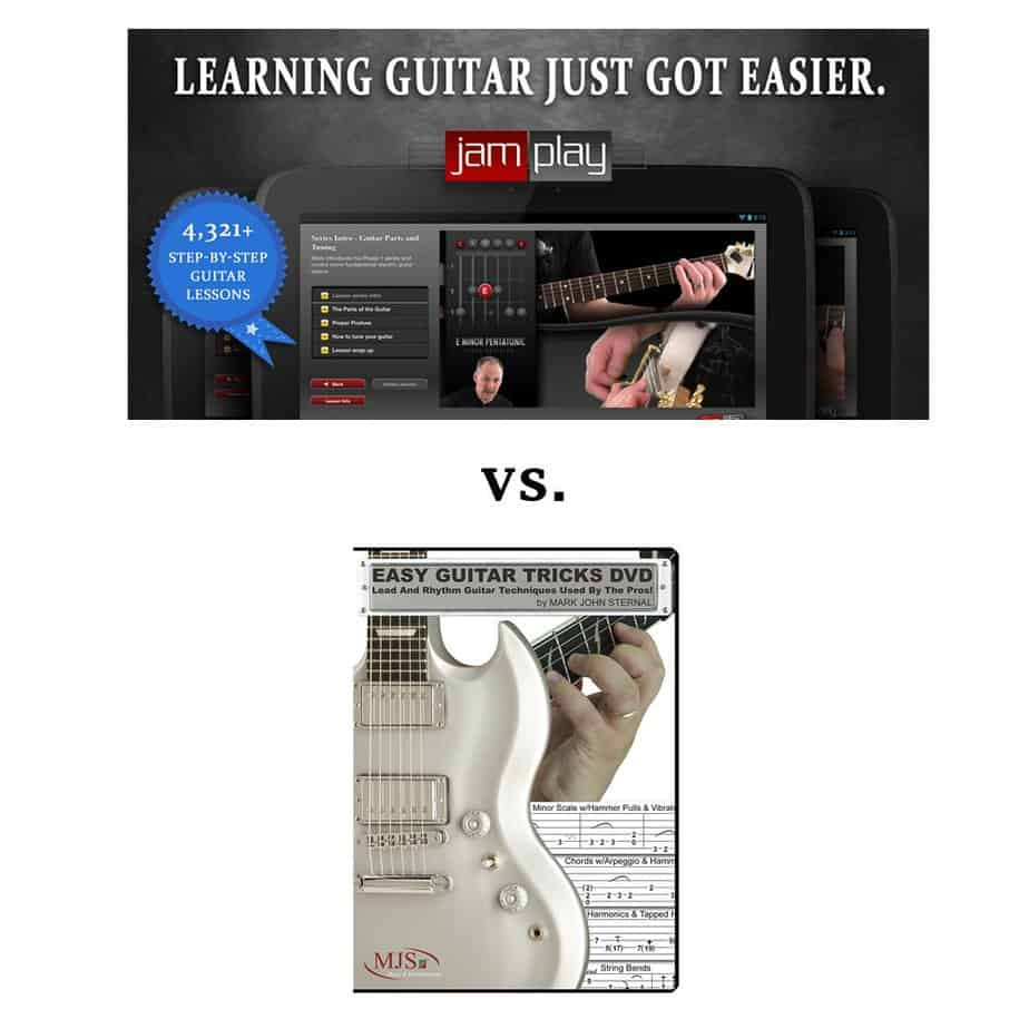 Jam Play VS Guitar Tricks- Which Platform Is Better To Learn On?