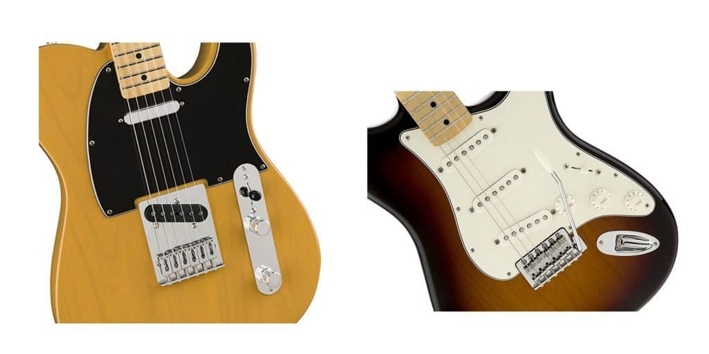 Fender Telecaster VS Stratocaster Compared