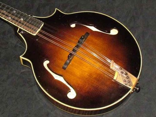 Wood Mandolin