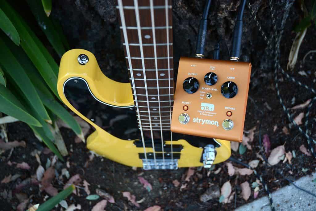 optical compressor for guitars
