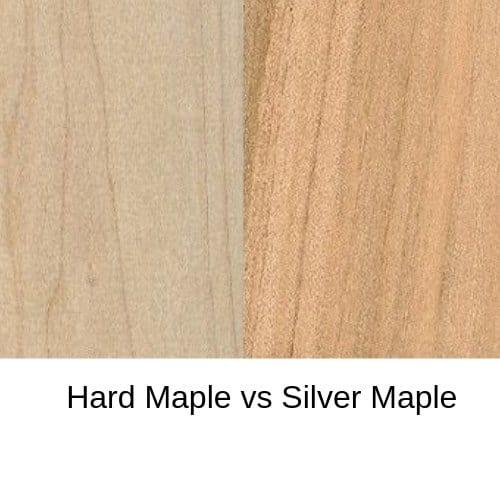 Hard Maple vs Silver Maple