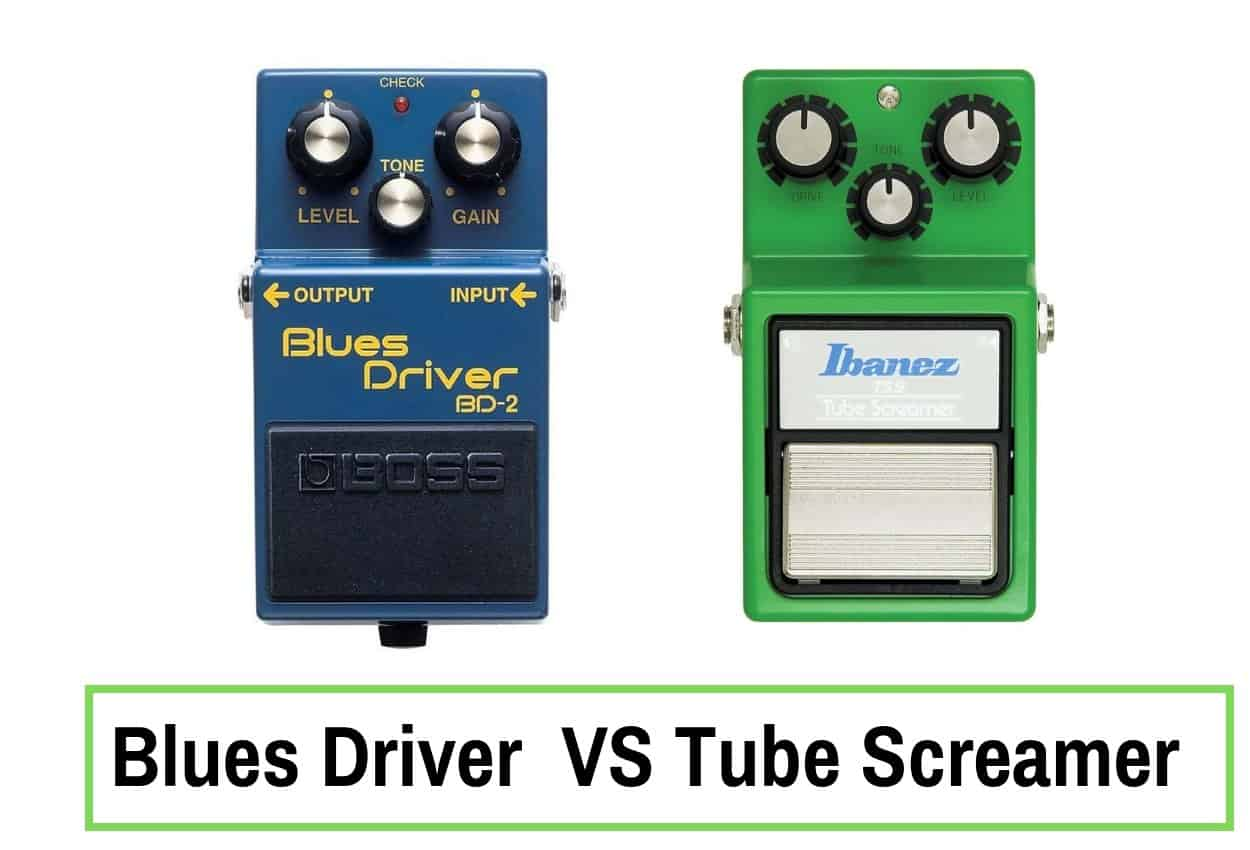 blues driver vs tube screamer which distortion pedal should you buy guitar space. Black Bedroom Furniture Sets. Home Design Ideas