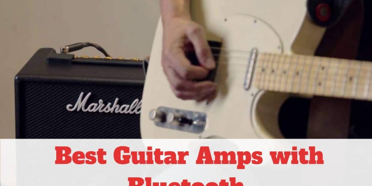 Best Guitar Amps with Bluetooth