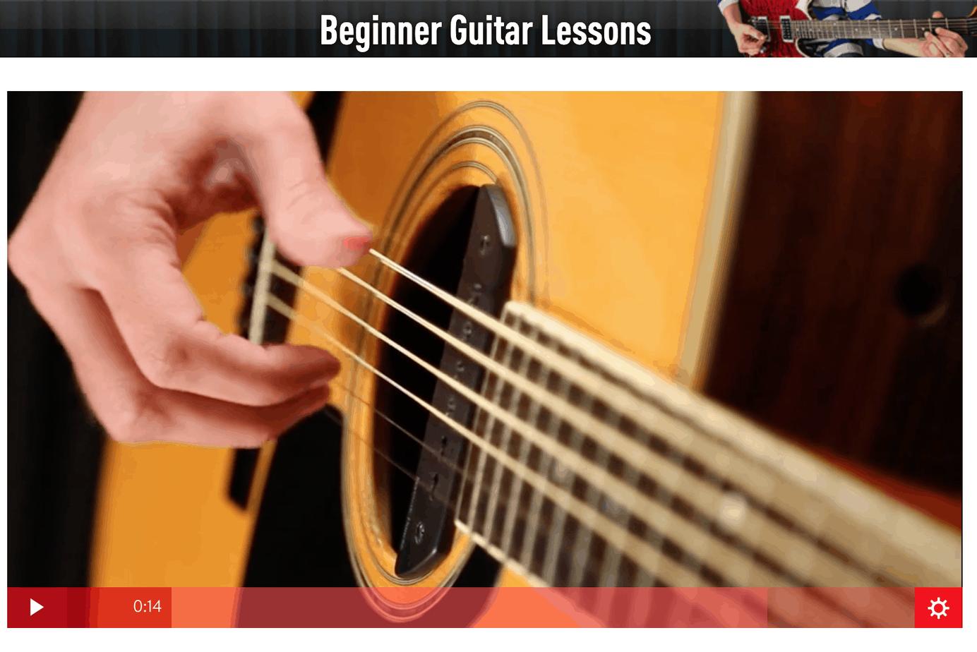 guitar tricks beginner guitar lessons