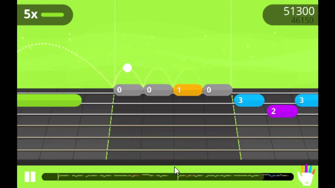 yousician guitar game play