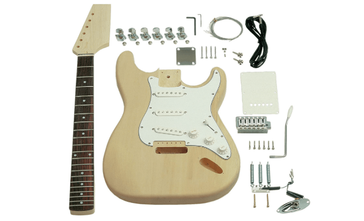 Saga ST-10 S-Style Electric Gitarre Kit