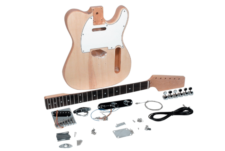 saga tc-10 style electric guitar kit
