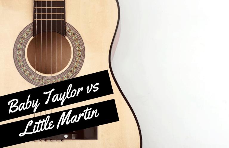 Baby Taylor vs Little Martin