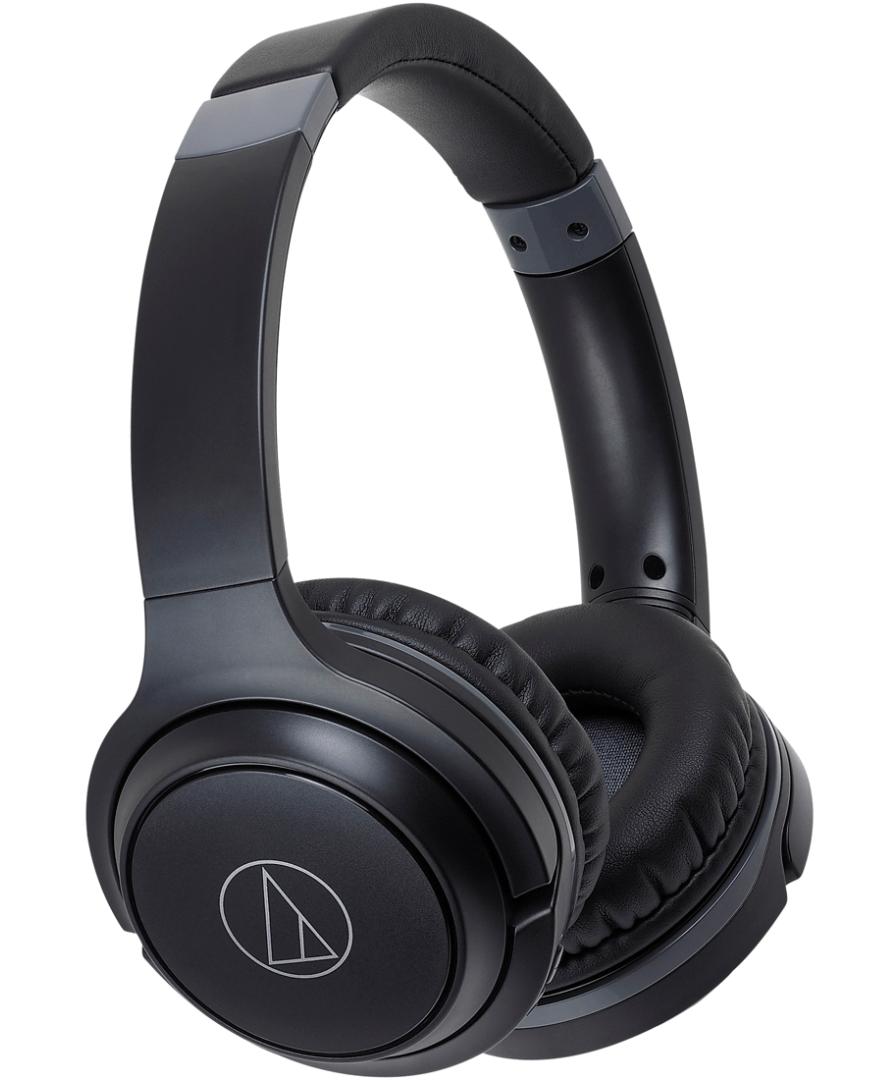 Audio-Technica ATH-S200BTBK On-Ear Bluetooth Headphones | Guitar Center