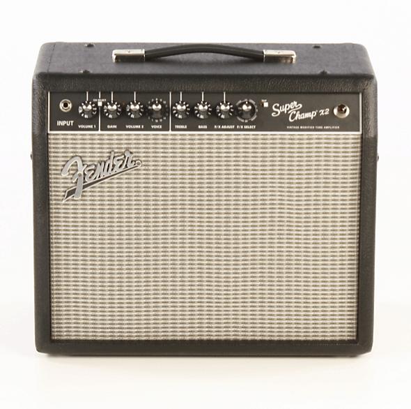 Fender Super-Champ X2 15W 1x10 Tube Guitar Combo Amp Black | Guitar Center