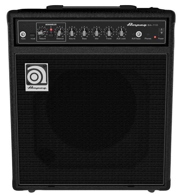 Ampeg BA110V2 1x10 Bass Combo Amplifier | Guitar Center