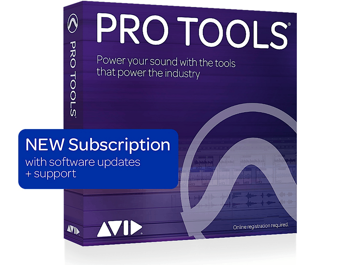 Avid Pro Tools 1-Year Subscription + Update/Support (Download) | Guitar Center