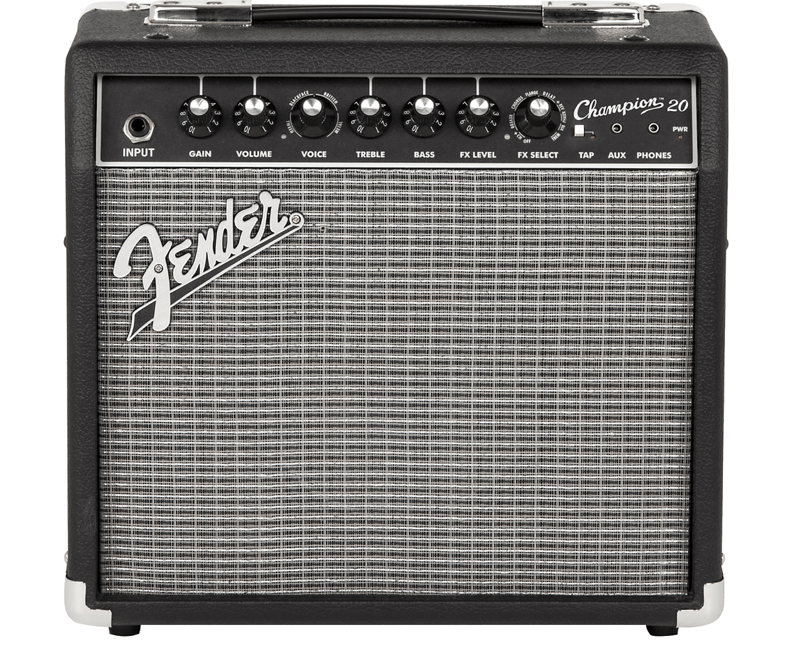 Fender Champion 20 Guitar Combo Amp Black | Guitar Center