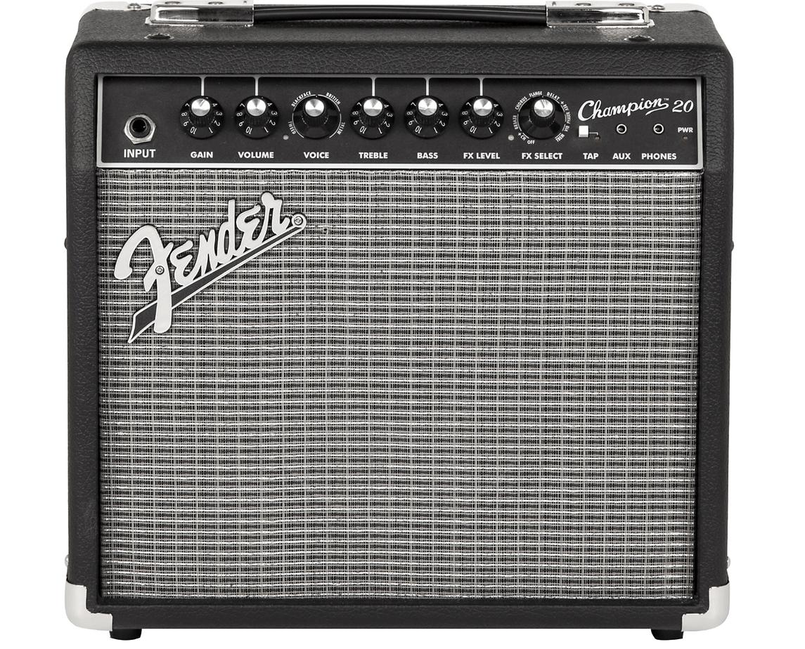 Fender Champion 20 Guitar Combo Amp Black | Guitar Center