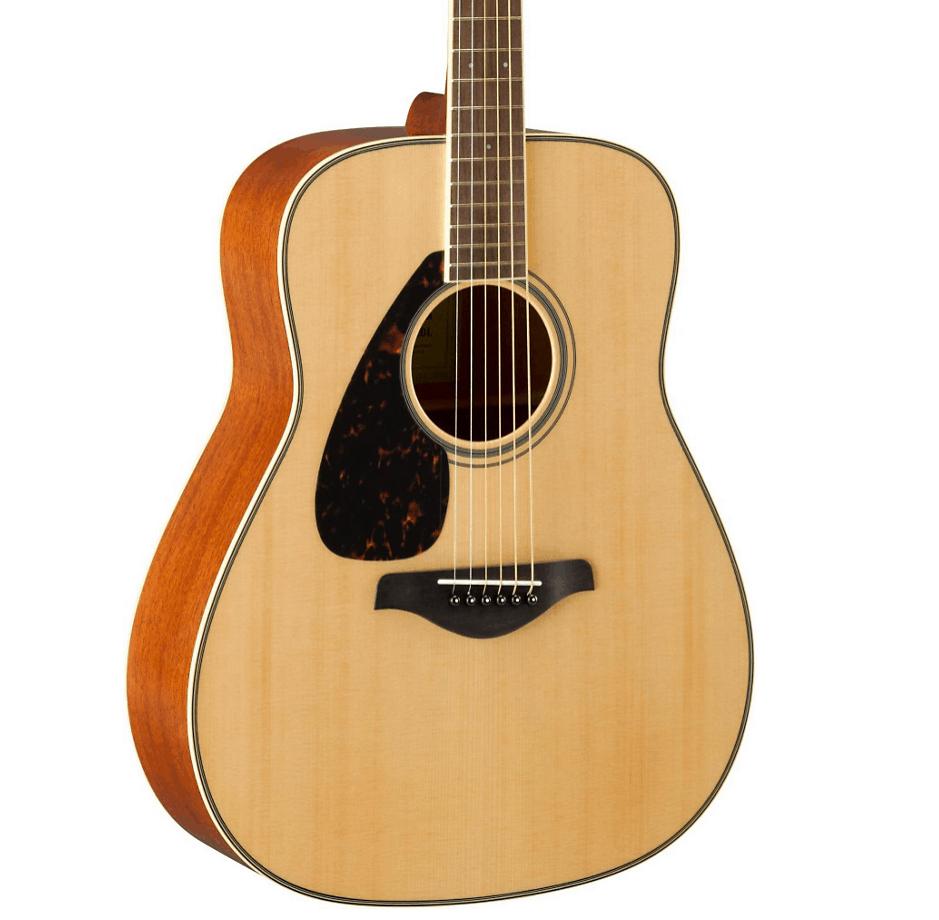 Yamaha FG820L Dreadnought Left-Handed Acoustic Guitar Natural | Guitar Center