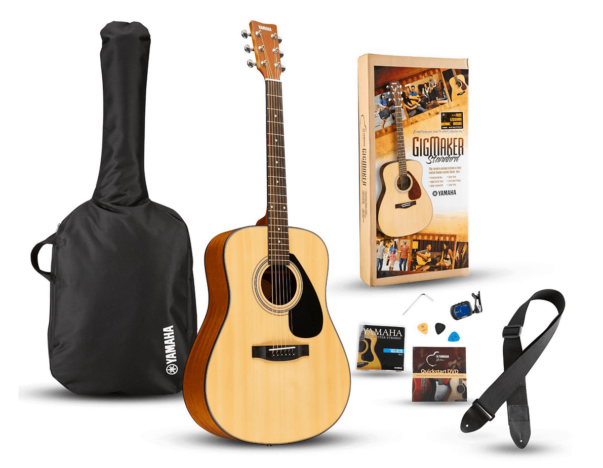 Yamaha GigMaker Acoustic Guitar Pack F325D | Guitar Center