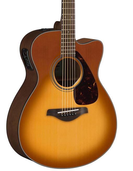 Yamaha FSX800C Small Body Acoustic-Electric Guitar | Guitar Center