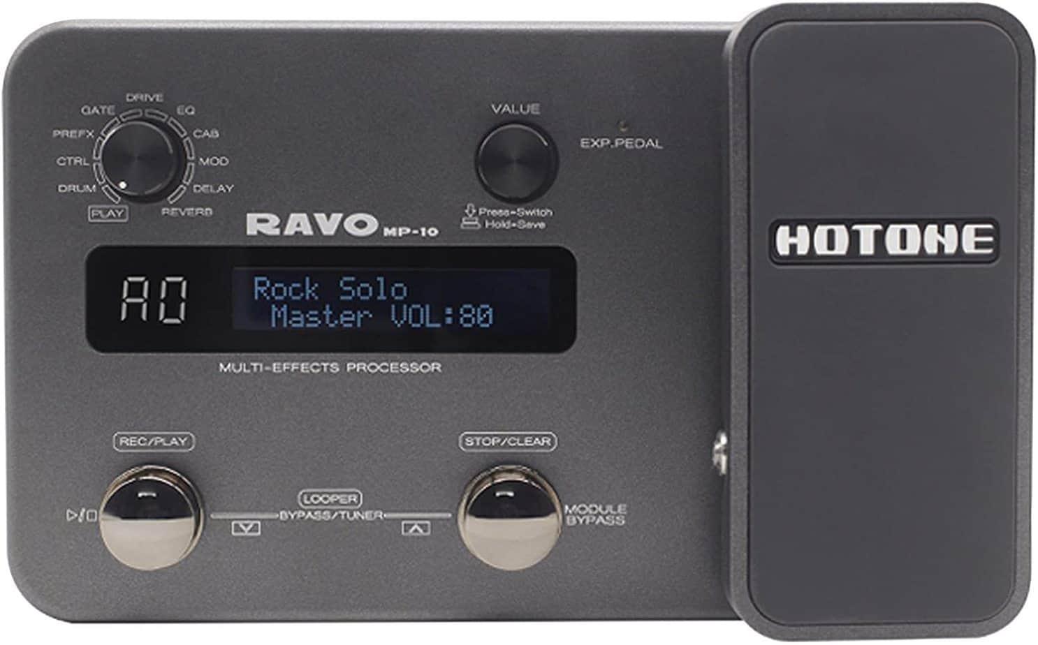 Hotone Ravo MP10 Guitar Multi-Effects | Reverb