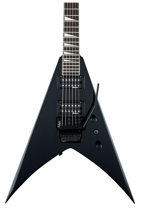 Jackson JS Series King V JS32 Black With White Bevel | Guitar Center