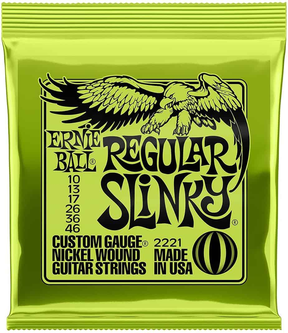 Ernie Ball Regular Slinky 2221 Electric Guitar Strings | Guitar Center