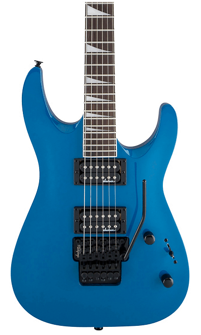 Jackson Dinky JS32 DKA Arch Top Electric Guitar Bright Blue | Guitar Center