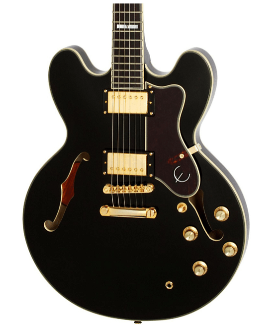Epiphone Sheraton-II PRO Electric Guitar Ebony   Guitar Center
