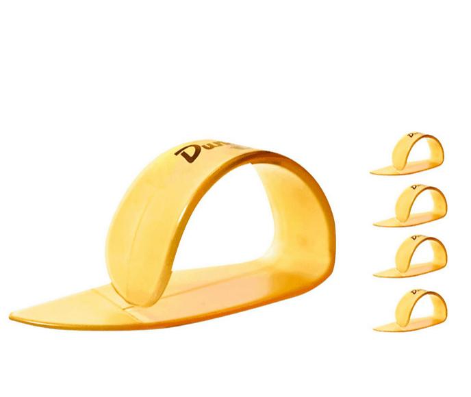 Dunlop Ultex Medium Thumbpicks Gold (4-Pack) | Guitar Center