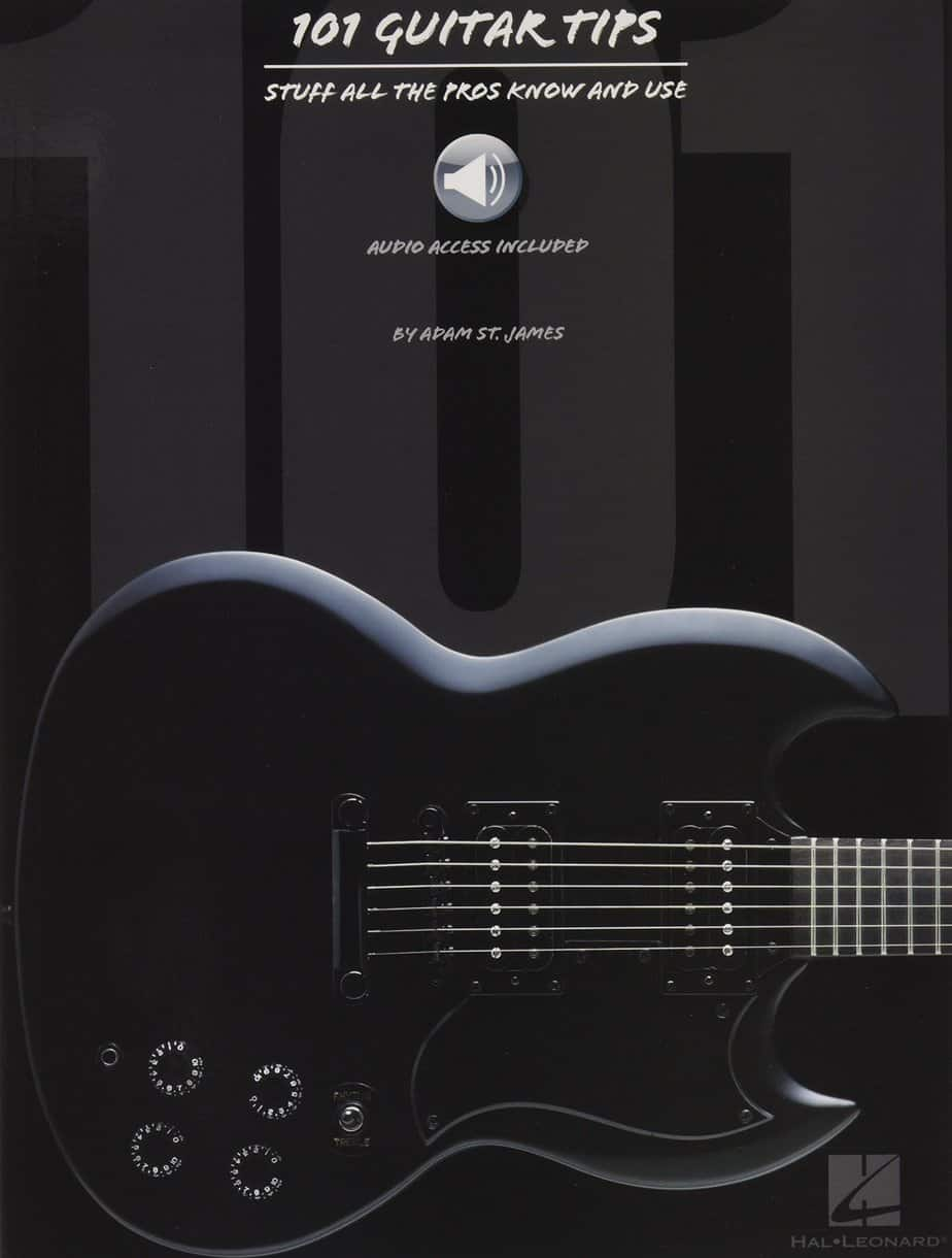 Hal Leonard 101 Guitar Tips (Book/Online Audio) | Guitar Center