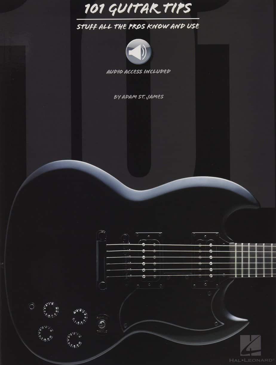 Hal Leonard 101 Guitar Tips (Book/Online Audio) | Guitar Center