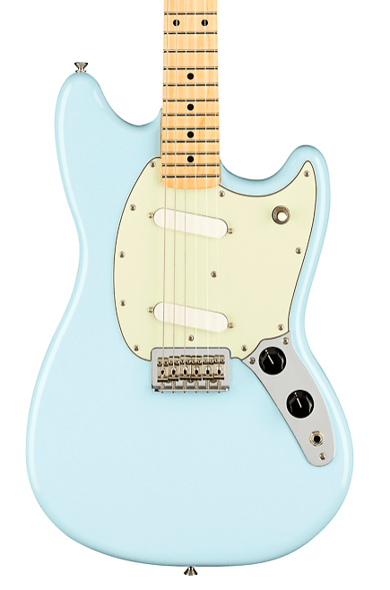 Fender Player Mustang Electric Guitar With Maple Fingerboard | Guitar Center