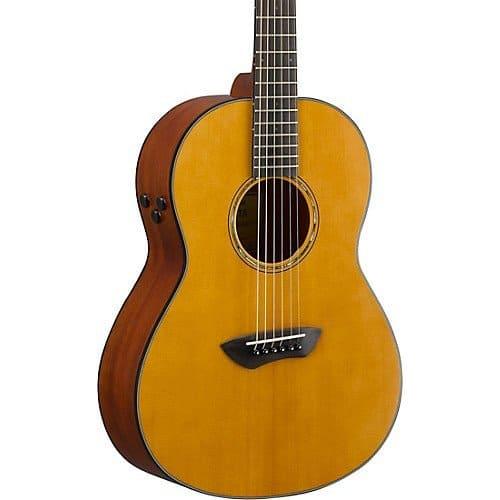 Yamaha CSF-TA TransAcoustic Parlor Acoustic-Electric Guitar | Musician's Friend