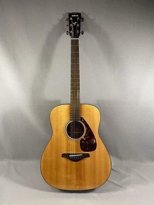 Yamaha FG700S Acoustic Folk Guitar | Reverb