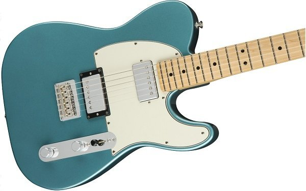 fender player telecaster hh features