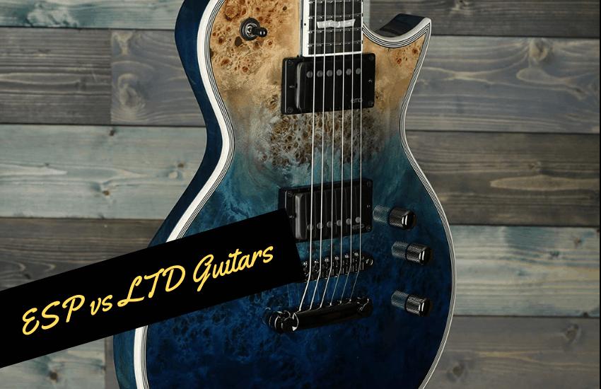 esp vs ltd guitars