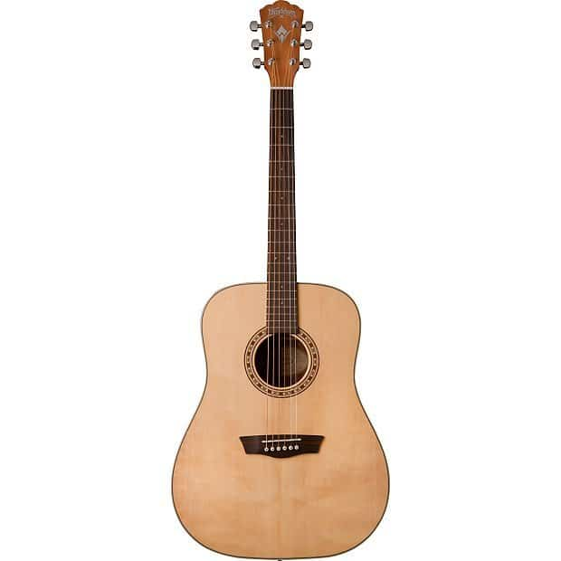 Washburn D7S Harvest Dreadnought Acoustic Guitar | Reverb