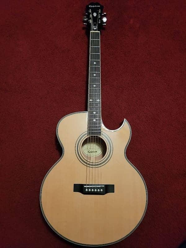 Epiphone PR-5E Acoustic/Electric Guitar | Reverb