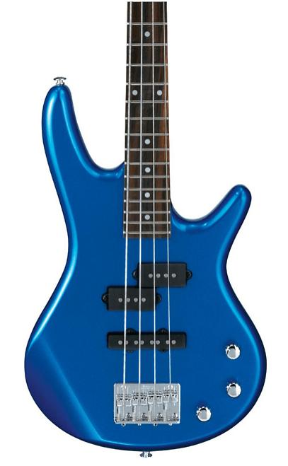 Ibanez GSRM20 Mikro Short-Scale Bass Guitar Starlight Blue | Guitar Center