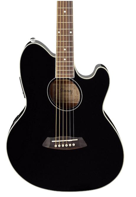 Ibanez Talman TCY10 Acoustic-Electric Guitar Black | Guitar Center
