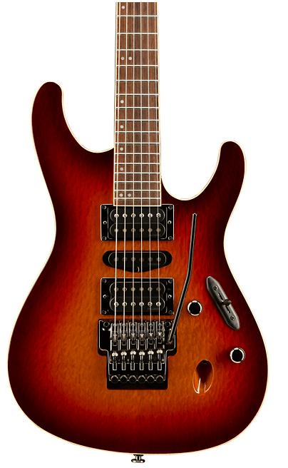 Ibanez S Prestige S6570SK Electric Guitar Sunset Burst   Guitar Center