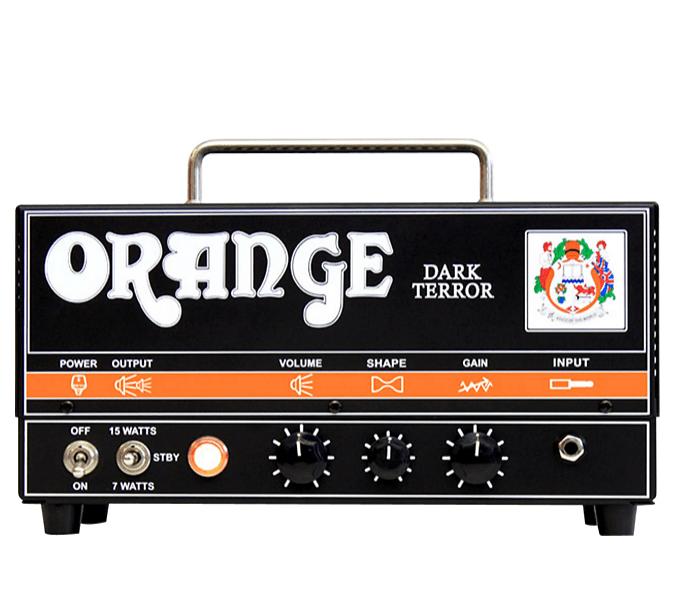 Orange Amplifiers DA15H Dark Terror 15 15W Tube Guitar Amp Head | Guitar Center