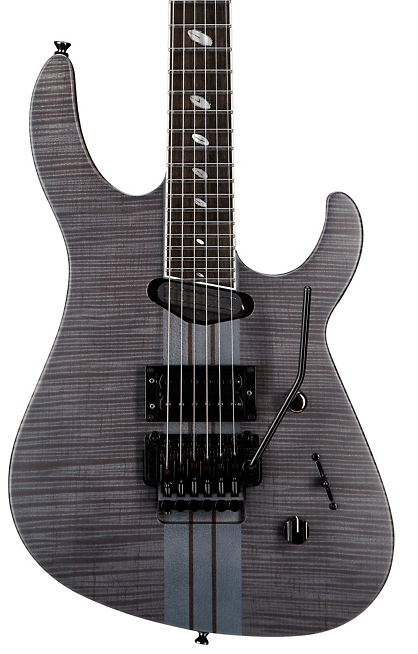 Caparison Guitars TAT Special FM Electric Guitar Transparent Black Stain | Guitar Center