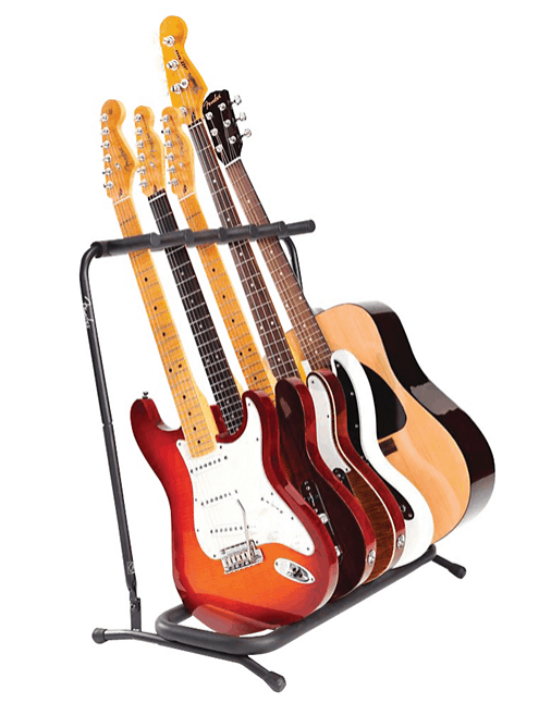Fender Folding 5-Guitar Stand | Guitar Center